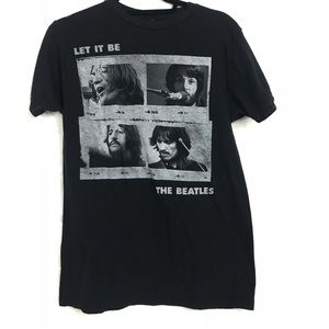 Beatles graphic tee t-shirt by Apple Corps medium